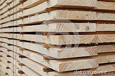 Kiln Dried Timber Planks