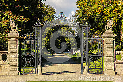 Kilruddery House & gardens. Entrance. Ireland