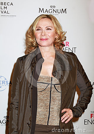 Kim Cattrall Editorial Stock Image