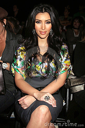 Kim Kardashian Editorial Stock Photo