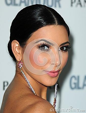 Kim Kardashian Editorial Photo