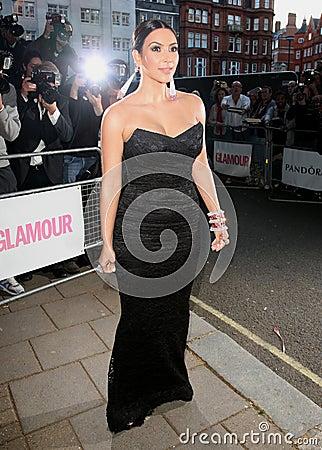 Kim Kardashian Editorial Image
