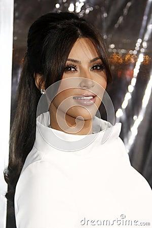 Kim Kardashian Editorial Stock Photo