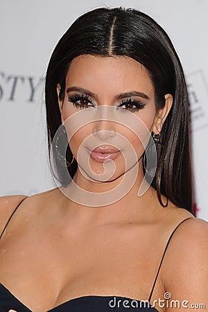 Kim Kardashian Editorial Stock Image