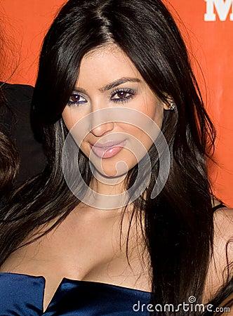 Free Kim Kardashian Royalty Free Stock Photography - 5192797
