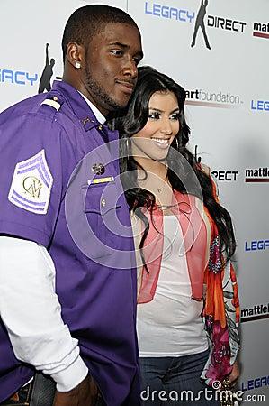 Kardashian Reggie Bush Video on Editorial Photo  Kim Kardashian And Reggie Bush Appearing Live  Image