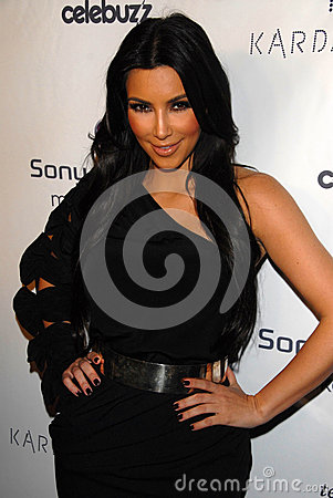 Kim Kardashian,RES Editorial Photo