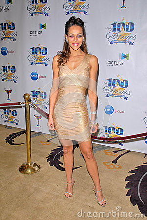 Kim Marie at the 2010 Night of 100 Stars Oscar Viewing Party, Beverly Hills Hotel, Beverly Hills, CA. 03-07-10 Editorial Stock Photo