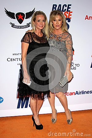 Kim Richards and Kathy Hilton at the 19th Annual Race To Erase MS, Century Plaza, Century City, CA 05-19-12 Editorial Photography