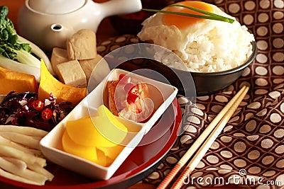 Kimchi and egg