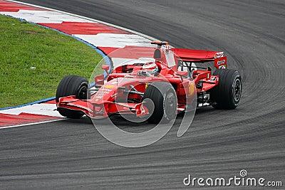 Kimi Raikkonen, Scuderia Ferrari Malboro F1 team Editorial Image