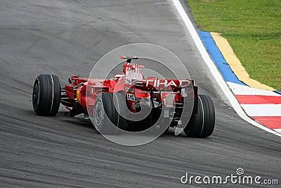 Kimi Raikkonen, Scuderia Ferrari Malboro F1 team Editorial Stock Image