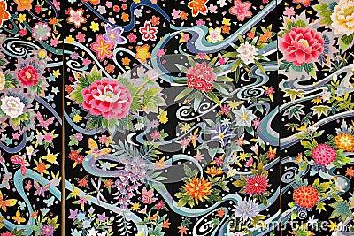 Kimono material Editorial Photography