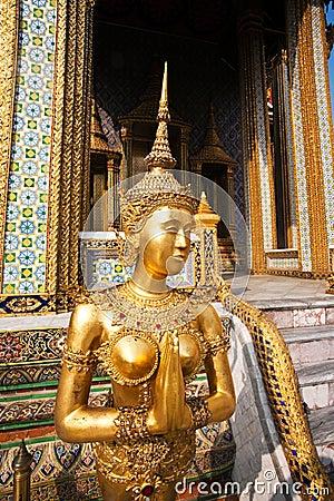 Kinaree, a mythology figure in the Grand Palace
