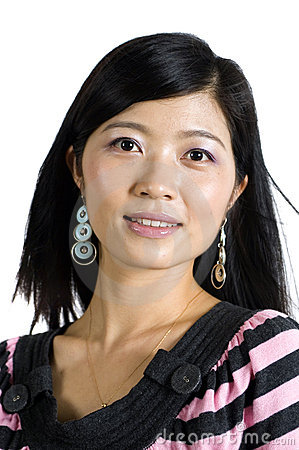 Kind Chinese girl - portrait