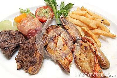 kind of grilled food