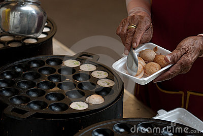 Kind of Thai sweetmeat .