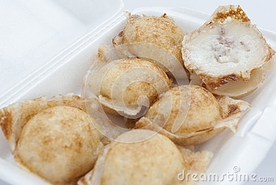 Kind of Thai sweetmeat Taro