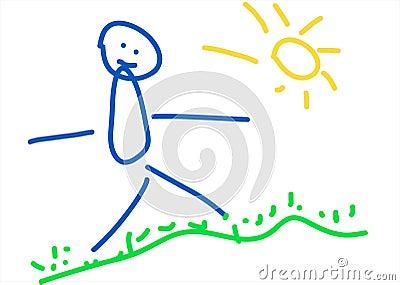 Kind-Zeichnen