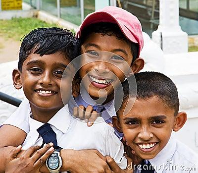 Kinder Redaktionelles Bild