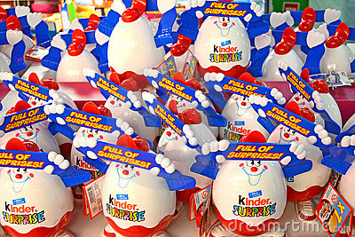 Kinder Surprise Editorial Stock Photo