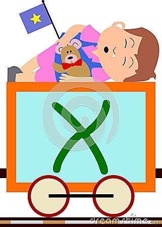 Kinder u. Serien-Serie - X