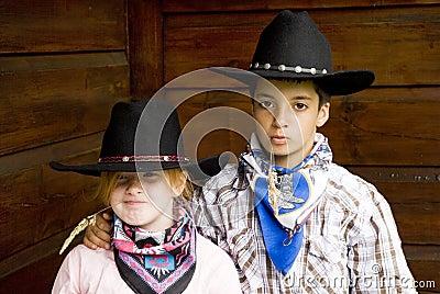 Royalty vrije stock afbeelding kinderen van het land