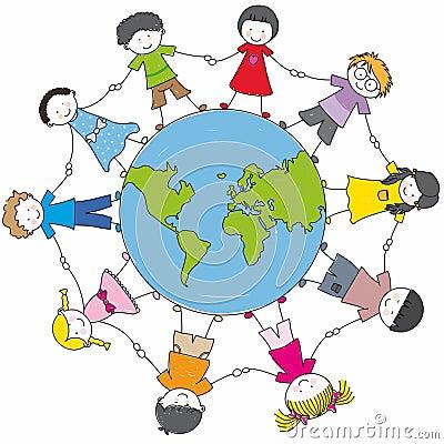 Kinderen van verschillende culturen