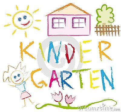 kindergarten stockfotos bild 14281243. Black Bedroom Furniture Sets. Home Design Ideas