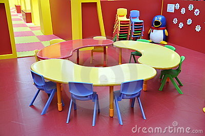 Kindergarten Childrens Play Area Table