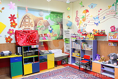 Preschool classroom Editorial Photography