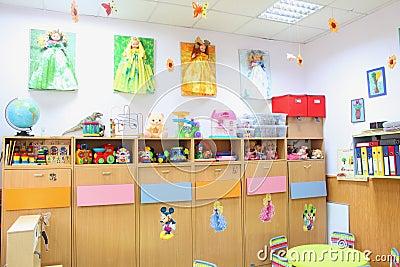 Kindergarten classroom Editorial Image