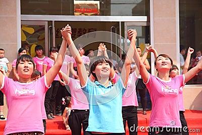 Kindergarten opening ceremony Editorial Photo