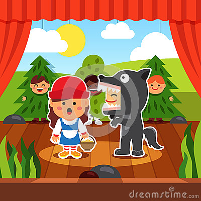 Free Kindergarten Theatre Play Stock Images - 60853804