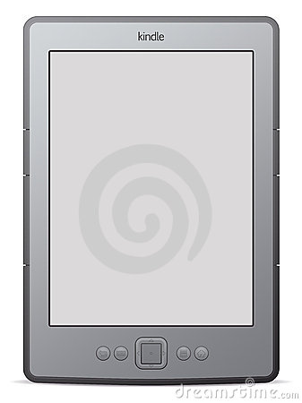 Kindle 4 Editorial Stock Image