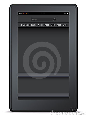 Kindle Fire Editorial Image