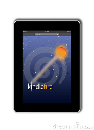 Free Kindle Fire From Amazon Stock Photo - 23136470