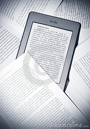 Kindle touch Editorial Stock Image