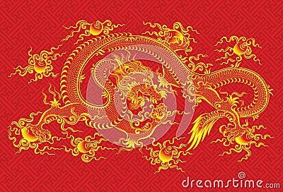 Kinesisk drakered