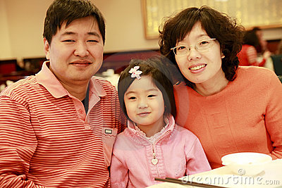 Kinesisk familj