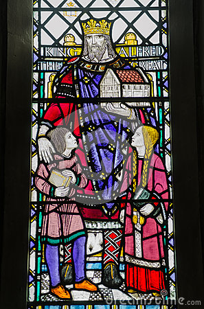 King Alfred Window, Winchester