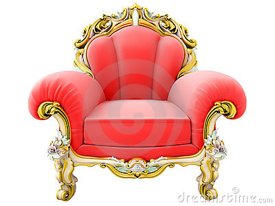 King armchair