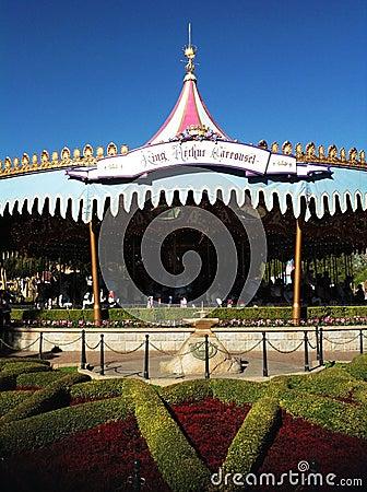 King Arthur Carrousel at Disneyland Editorial Photography