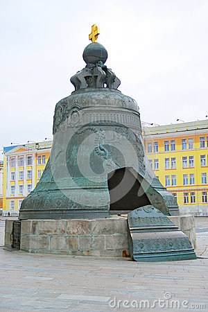 Free King Bell In Moscow Kremlin Stock Photos - 34801063