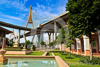 King Bhumibol Bridge