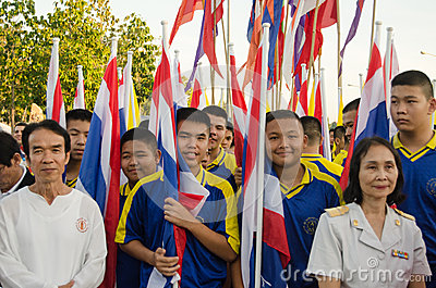King Birthday Parade, Thailand Editorial Photo