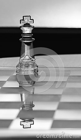 King Chess Piece - business concept series.