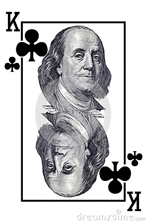 King of clubs.