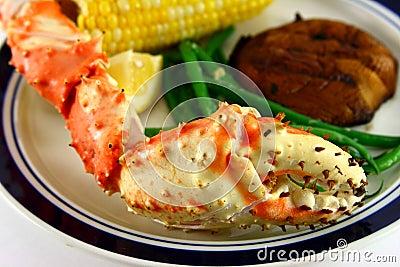 King Crab Leg Meal