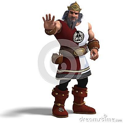 King of the fantasy dwarves